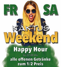 Kaktus Weekend@Kaktus Bar