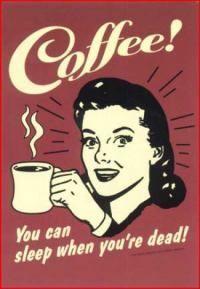 Gruppenavatar von Kaffee dehydriert nicht, ich wäre sonst schon Staub