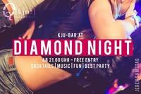 Saturday Diamond Night@Q[kju:] Bar