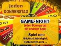 Jeden Donnerstag – Game-Night@Partymaus Wörgl