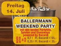 Ballermann Weekend Party@Partymaus Wörgl