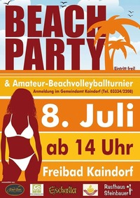 Beachparty@Kaindorf
