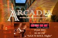 Arcadia mit Sax`N Soul Ingo Beer!@Qube Music Lounge