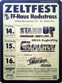 Zeltfest der FF-Hochstrass