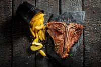 Steak für zwei im Huth da Moritz@Huth Da Moritz