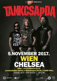 Tankcsapda Tour 2017 - Wien (A) - Chelsea@Chelsea Musicplace