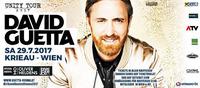 David Guetta - Unity Tour 2017