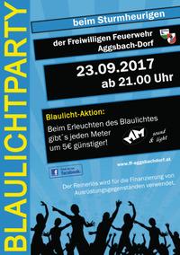 Blaulichtparty 2017@Feuerwehrhaus Aggsbach-Dorf