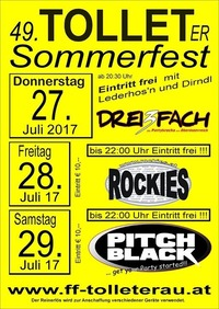 Tolleter Sommerfest 2017@Open Air Gelände