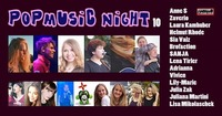 PopMusic Night 10 - Do, 31. August im Cafe Carina@Café Carina