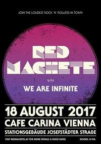 Live In Vienna // Red Machete & We Are Infinite@Café Carina