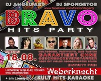 BRAVO Hits Party at Weberknecht // 18.08.2017@Weberknecht