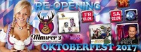 Maurer's Re-Opening & Oktoberfest 2017@Maurer´s