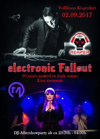 Electronic Fallout - 10 years united in dark music!@Volxhaus