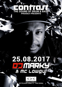 CONTRAST presents DJ MARKY & MC LOWQUI@GRELLE FORELLE