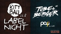 Kittball Records Label Night w. Tube & Berger + Paji Live@Pratersauna