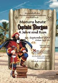 Matura Heute, Captain Morgan - 4 Jahre sind Rum
