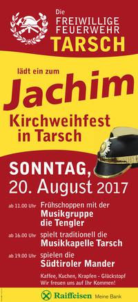 Tradiotionelles Kirchweihfest Jachim der FF Tarsch @Tarsch - Vereinshaus