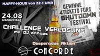 Challenge Verlosung mit DJ daKaos@Discothek Concorde