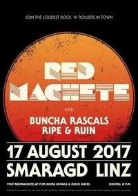 LIVE IN LINZ: Red Machete, Buncha Rascals, Ripe & Ruin@Smaragd