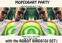 Mopedbart Party by Robot Birds(DJ SET)@Smaragd