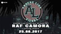 Andere Liga feiert Album Release mit RAF Camora - 25.08. at BOX@BOX Vienna