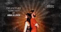 Freudentanz Techno-Duett mit Anna Ullrich@Postgarage