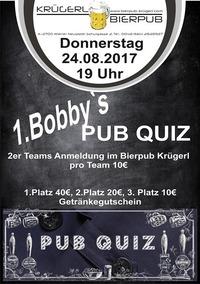 1. Bobby`s Pub Quiz@Bierpub Krügerl