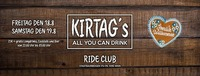 Kirtag´s - After Drink@Ride Club