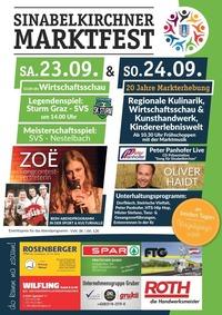 Sinabelkirchner Marktfest@Sport- und Kulturhalle Sinabelkirchen