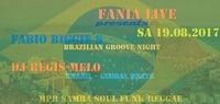 Fabio Biggie´s - Dj Regis-Melo@Fania Live
