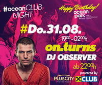 ocean CLUB NIGHT mit DJ Observer
