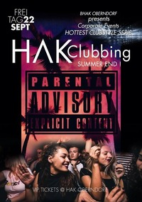 Hak Clubbing // Summer END@Johnnys - The Castle of Emotions