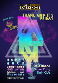 Thank God Its Friday /DJ GBK
