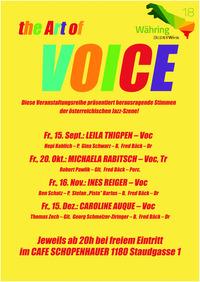 The ART OF VOICE feat. Leila Thigpen@Cafe Schopenhauer