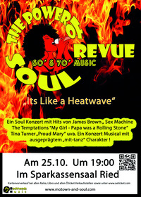 The Power of Soul Revue@Sparkassensaal