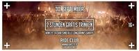 2 Stunden gratis trinken !@Ride Club