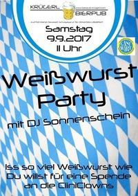 1. Weißwurst Party in Wiener Neustadt@Bierpub Krügerl