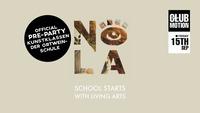 NOLA - School starts with Living Arts@Club Motion