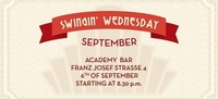 Swingin' Wednesday September@academy Cafe-Bar