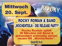 Rocky Roman & Band@Mausefalle