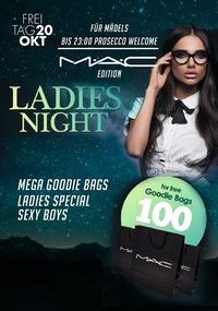 Ladies Night - MÄC edition 100e Geschenke von MÄC Cosmetics@Johnnys - The Castle of Emotions