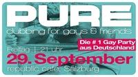 PURE - clubbing for gays & friends at republic café@Republic
