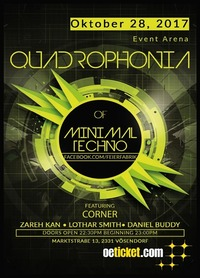 Quadrophonia of Minimal Techno@Event Arena