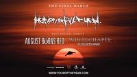 Heaven Shall Burn, August Burns Red, Whitechapel   Wien@Gasometer - planet.tt