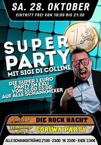 Die Super 1€ Party mit Sigi di Collini@Excalibur