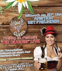 Die Guggis live @ Jedermann Wiesn@Jedermann