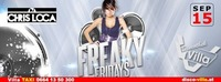 Freaky Friday mit DJ Chris Loca@Disco Villa