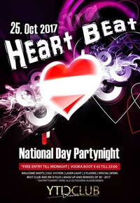 Heart Beat | Nationalfeiertags Party@Club Nautica