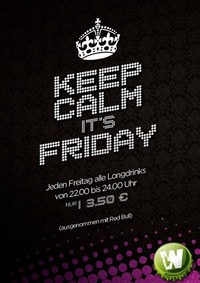 Keep Calm it's Friday!@Key-West-Bar